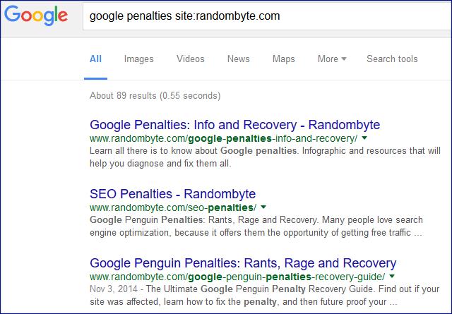 finding similar website content