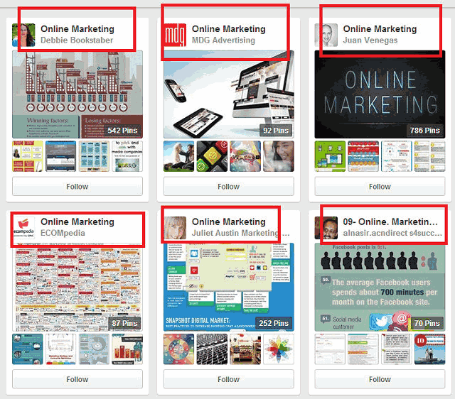 pinterest niche marketing