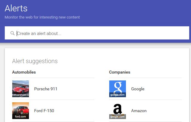 google alerts for vip reputation management