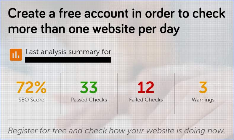 free website audits