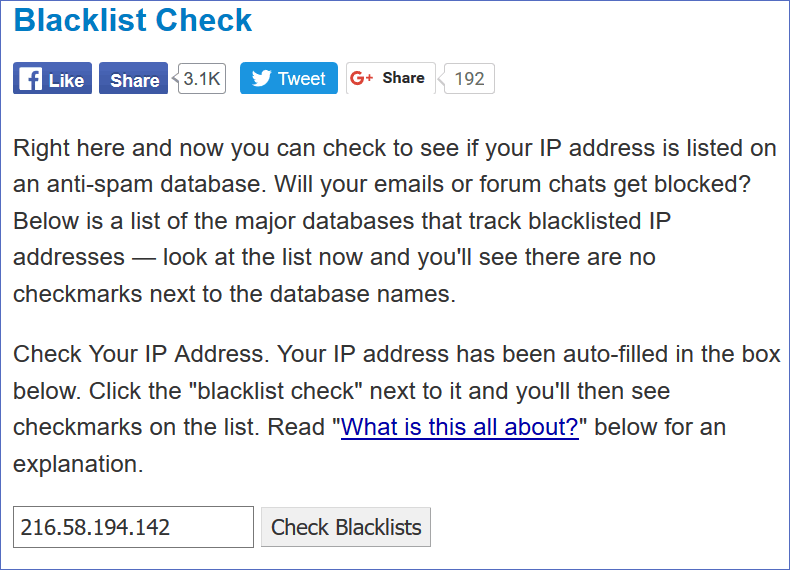ip blacklist checker