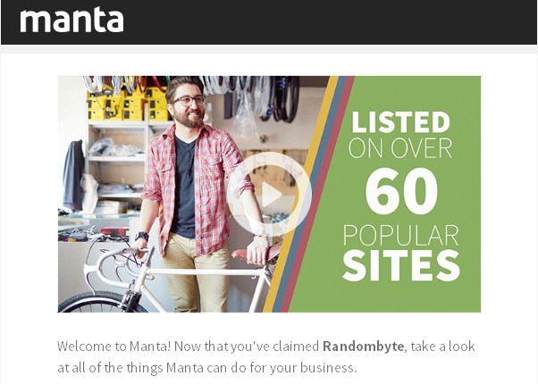 verified manta business account