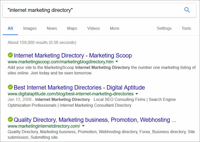 finding niche directories