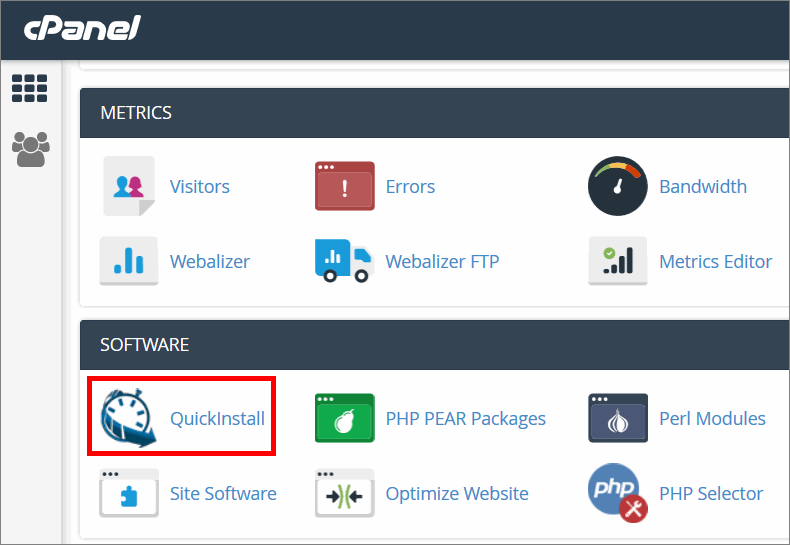 cpanel quick install